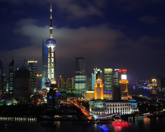 china Shanghai-skyscrapers-tower-lights-city-night-China_2560x1600